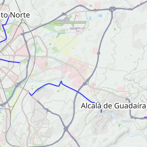 Carril Bici Sevilla Mapa.Plano De Carril Bici En Sevilla