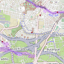 Map Of Bike Lanes In Leganés - Leganés map
