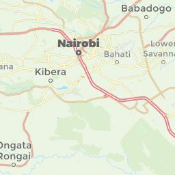 Nairobi Kenya Offline Map For IPhone IPad IPod Touch - nairobi map