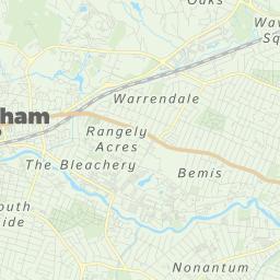 Waltham Map