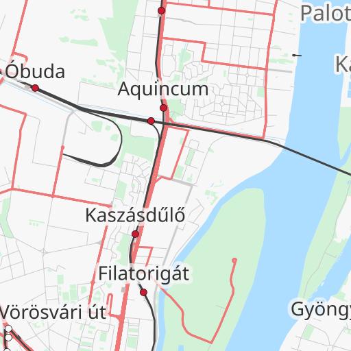 Bkv Utvonaltervezo Budapesten Tomegkozlekedessel